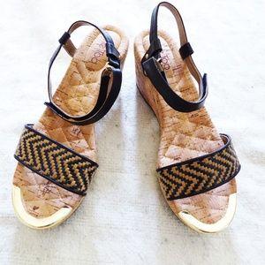 NWOT Me Too wedge Sandals